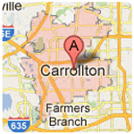 carrolton texas roof repair service area