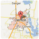 denton texas roof repair service area