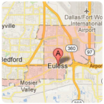 euless texas roof repair service area