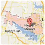 flower mound texas roof repair service area
