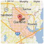 garland texas roof repair service area