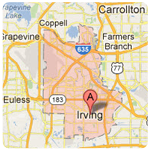 irving texas roof repair service area